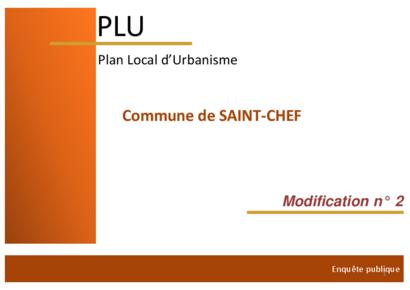 Modification n°2 du PLU